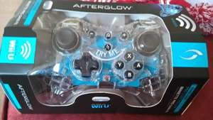 Afterglow Wii U Pro controller £14.99 instore at Sainsburys