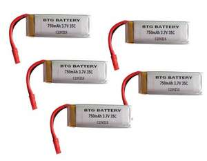 BTG 1S 3.7V 750mAh 35C Upgrade Lipo Battery (5 batteries) Fits Revell Rayvore £19.99 Prime - Sold by BTG Fulfilled by Amazon, or direct from BTG 19.99 free delivery