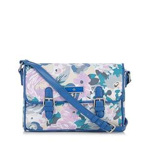 The Collection Blue printed canvas satchel - Was £29 now £8.70 @ Debenhams (free C&C / £3.49 delivery)