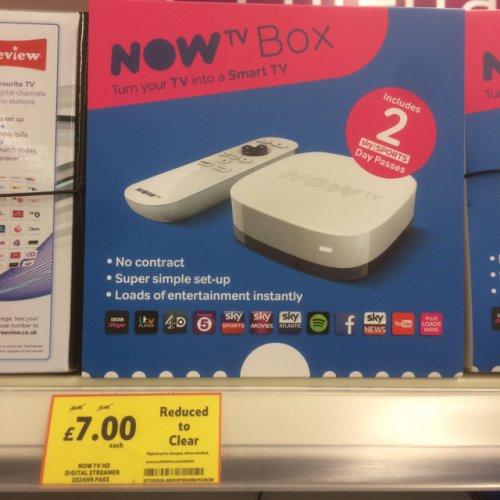 Now TV box £7 @ Tesco