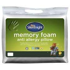 Silentnight Anti Allergy Memory Foam Pillow - Was 29.00 now £6.75 Tesco instore