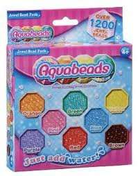 Aquabeads jewel bead refill (1200 beads) £4.99 @ Amazon  (add on item / £20 spend)