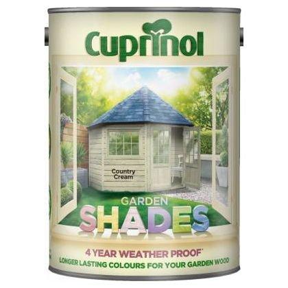 Cuprinol Garden Shades - Country Cream - 5 Litres £19 @ Homebase Free C&C
