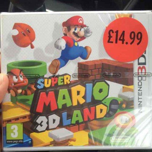 Super Mario 3D Land - 3DS - £14.99 Sainsburys in store