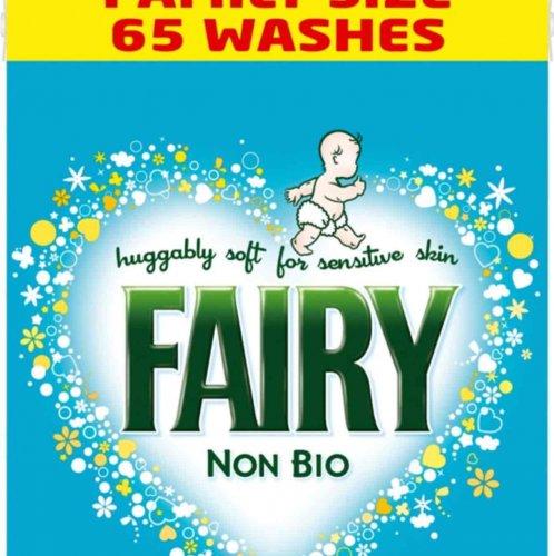 Fairy Non Bio Washing Powder - 65 wash (4.2KG) @ Tesco - £8