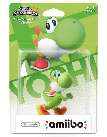 Super Smash Bros. Yoshi amiibo figure £2.63 Instore @ Tesco