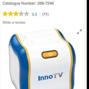 Vtech Inno Tv £20 @ tesco online