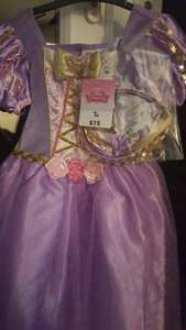 Disney Rapunzel dressing up dress and hairband £2.00 instore at Sainsburys