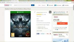 Diablo 3 Reaper of Souls Ultimate Evil Edition Xbox One £12.50 @ Tesco