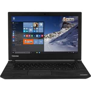 "TOSHIBA Satellite C40-C-10K Laptop 14"" 32GB SSD 2GB RAM Windows 8 - Black £169.99 @ ebay / Curryspcworld"