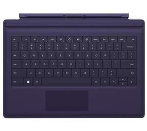 "MICROSOFT Surface Pro 3 12"" Type Cover - Purple REDUCED FROM £109.99 to ONLY £19.97 **GET IT QUICK** @ Currys"
