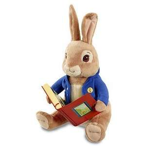 Peter Rabbit Story Telling Peter Rabbit Plush Toy (was £21.99) Now £12.19 (prime) £16.94 (non prime) at Amazon