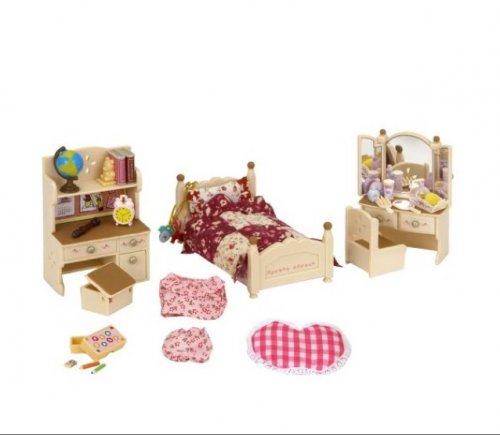 Sylvanian Families Bedroom Set £4 @ tesco