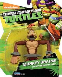 TMNT Monkey Brains action figure £4 (FREE C&C) @ Tesco