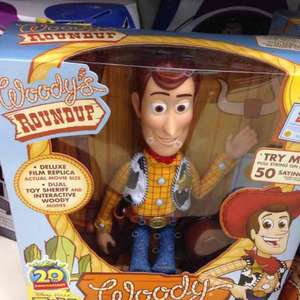 toy story Woody signature collection - £18 @ tesco