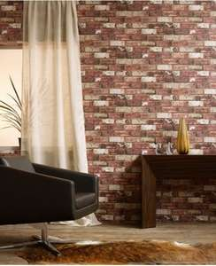 Brick Wallpaper £9.99 (Prime) / £14.74 (non Prime) @ Amazon