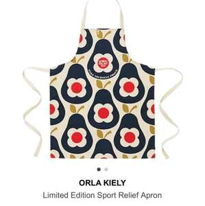 Orla Kiely ltd edition apron for sports relief £12.99 free c&c @ TK Maxx