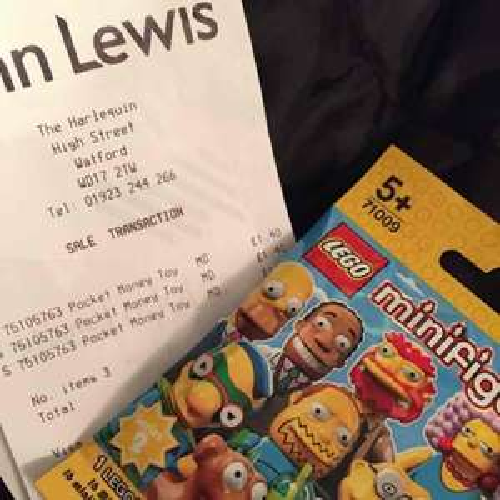 Lego Minifigures Simpsons series 2 £1.40 @ JohnLewis