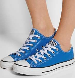 Blue Converse Chuck Taylor low-top sneakers - loads of sizes left £23 + £5 del @ Net-a-porter