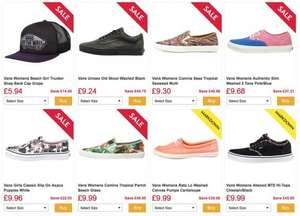 VANS from £9.24 at MandM Direct -  Delivery £4.49 however many pairs you buy!