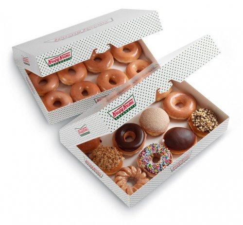 Buy 12 original Krispy Kreme doughnuts, get 12 free £10.95 via O2 Priority