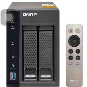 qnap ts-253a with 4K transcoding NAS £249.99 with code delivered @ Amazon