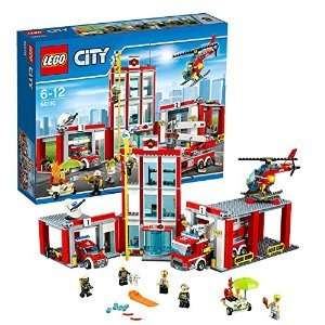 LEGO City Fire Fire Station 60110  £49.70 delivered @ Amazon