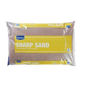 Wickes Sharp Sand - 25kg £2.19 at Wickes