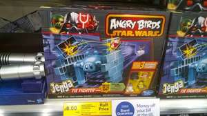 Angry Birds Star Wars Jenga Tie Fighter £8 @ Tesco Sowerby Bridge