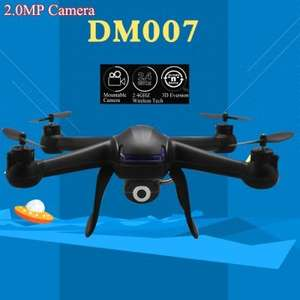 DM007 RC Quadcopter 6 Axis Gyro Explorer UFO  -  BLACK £17.10 @ Gearbest
