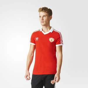 retro 80s manchester united shirt S-XL £23.15 delivered at Adidas.co.uk (Incl. £3.95 Airmail shipping or Free on £100 spend