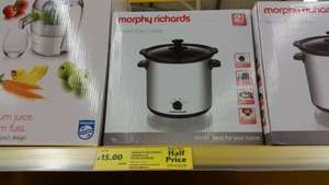 morphy richards slow cooker £15 @ Tesco in store & online