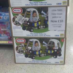 cozy coupe police car £10 in store only @ Tesco