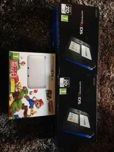 Nintendo 3ds with mario £22.50 Nintendo 2ds £12.50 @ Tesco instore