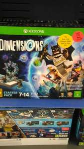 Lego dimensions starter pack Xbox one & PS4 - £55 @ Sainsbury's