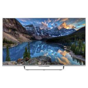 Sony KDL55W807CSU 55 Inch Smart 3D Youview/Android WiFi Built In Full HD 1080p LED TV with Freeview HD - Silver £689 @ Tesco