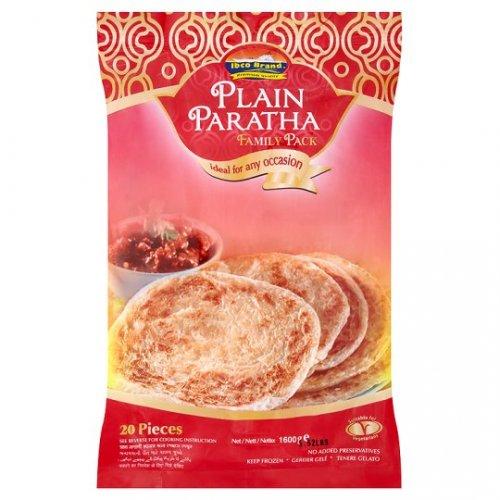Ibco Plain Paratha Family Pack 20S 1.6Kg £1.50 @ Tesco