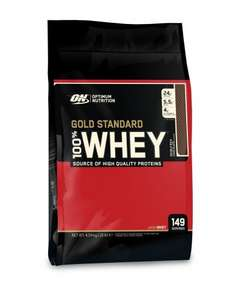 Optimum Nutrition Gold Standard 100% Whey Double Rich Chocolate Protein Powder 4.54kg. £43.82 with subscribe and save & BIGTHANKS CODE @ Amazon