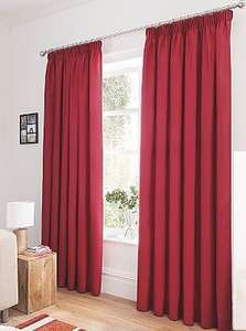"ASDA George Home Faux Silk Pencil Pleat Fully Lined Curtains 90 x 90"" £9.00 c&c (misprice?) Marked £35 on package!"
