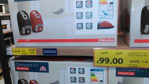 miele cat & dog c1 power line £99. IN STORE TESCO