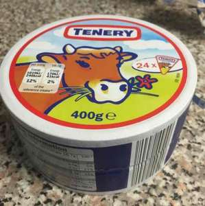 Large pack of 24 Tenery Cheese Spread Triangles £1.24 Lidl