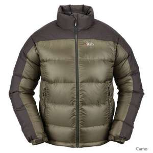 RAB Men's Arete Down Jacket £79 free delivery @ ultimateoutdoors