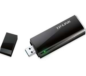TP-LINK Archer T4U - AC1200 Dual Band USB Wireless Adapter £14.97 @ Currys/Pcworld