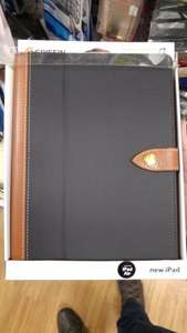 Griffin Brown/Black Leather iPad Air Case - £1 at Poundland
