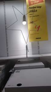 Ikea ceiling light £1 from £18 instore
