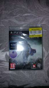 shadow of mordor (ps3) £4.50 @ Tesco Sunderland