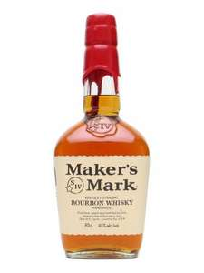 Makers Mark Bourbon Whisky £25.45 + £4.95 del @ The Whiskey exchange