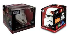 Star Wars Stormtrooper/ Millennium Falcon Colour Changing LED Light £2.50 @ Tesco Staple Hill Bristol