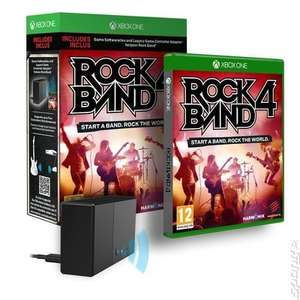 Rock Band 4 (Xbox One) £48.28 @ MusicMagpie