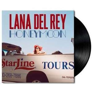 'Honeymoon' by Lana Del Rey Vinyl 2xLP (Amazon £11.99)